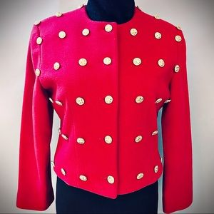 Designer Patrick Kelly 80's Button Jacket Vintage